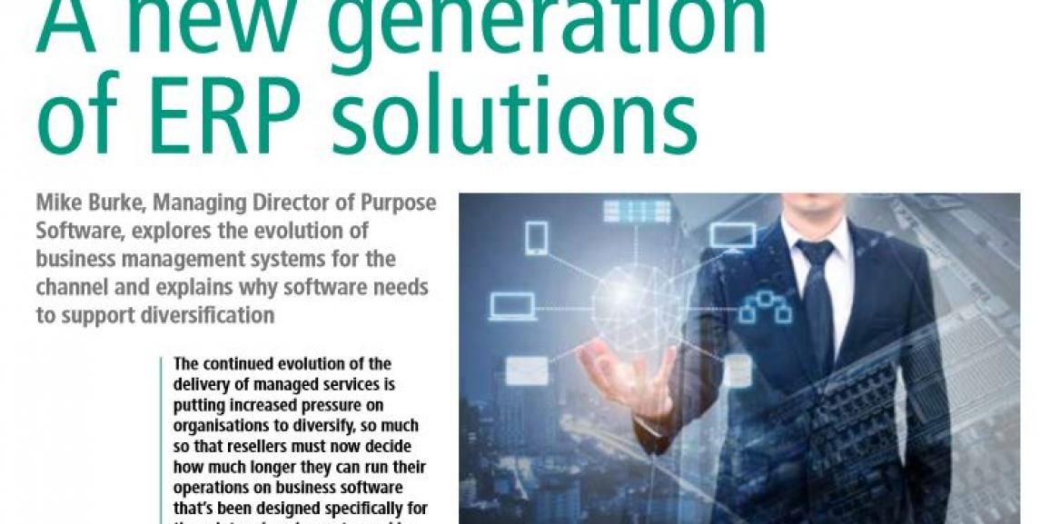 A new generation of ERP solutions – Print IT Reseller October 2017
